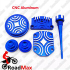 CNC Billet Alum Engine Dress Up Kit 50cc 70cc 90cc 110cc 125cc Pit Dirt Bike ATV