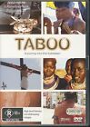 Taboo A Journey Into The Forbidden DVD NEW 4-disc Region 4 PAL