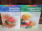 Lot of 2 WEIGHT WATCHERS 2004 Complete Food Companion 2004 Dining Out Companion