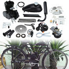 50cc 2 Stroke Bicycle Engine Petrol Gas Motor Kit Cycle Motorized Bike Black