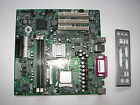 HP NR138 Motherboard Socket 478 + Backplate + Intel Pentium 4 CPU 24 GHz COMBO