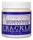 CRACKLE Embossing Paste by Dreamweaver  Stampendous New DWCEP