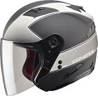 GMAX OF77 Classic Open Face Street Bike Motorcycle Scooter Helmet DOT