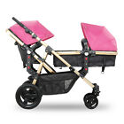 Luxury Newborn Baby Pram Twin Infant Stroller Foldable Baby Pushchair