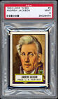 1952 Topps Look 'N See #8 Andrew Jackson PSA 9 MINT. Well centered!