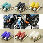 Motorcycle Motorbike No Cut Delrin Black Frame Sliders Crash Fairing Saver