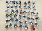Lot of 47 Smurfs Figures Figurines Papa Smurfette Baby and More! USA seller!