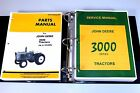 JOHN DEERE 3020 TRACTOR SERVICE PARTS MANUALS TECHNICAL SHOP REPAIR CATALOG