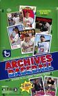 2014 Topps Archives Baseball Hobby Box (Sealed) Major League Stars Charlie Sheen