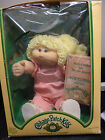 Vintage1983 Cabbage Patch Kids Doll Blonde with Adoption Birth Certificate