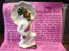 1996 Haydels king cake doll SECOND LINER Mardi Gras New Orleans haydel