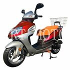 DF MOTOR DF50STA 50cc Gas Moped Scooter Bicycle Rear Carrier RED