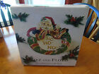 FITZ AND FLOYD CHRISTMAS WREATH PLATE NEW IN BOX!