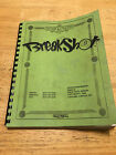 Breakshot pinball manual
