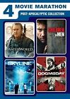 4 Movie Marathon Post Apocalyptic Collection Waterworld Skyline Children of