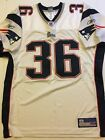 Lawyer Milloy New England Patriots Reebok Authentic On Field Jersey Size 50 NFL