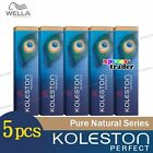 5 x Wella Koleston Perfect Haarfärbemittel Hair Color Dye 60g Pure Naturals