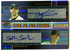 2004 SP Prospects TODD HELTON SETH SMITH RC Link to the Future Dual Auto # 100