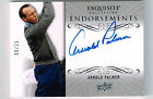 ARNOLD PALMER 2014 UPPER DECK EXQUISITE ENDORSEMENTS AUTOGRAPH # 8 25 HOF 1974