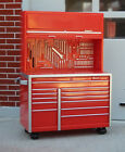 Snap On Tool Box Miniature Upright On Wheels 1 24 Scale Sty B Diorama Accessory