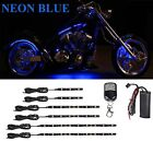 36 Led NEON Blue Engine Accent Lighting Kit For All Harley Davidson Motorcycles