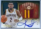 KYRIE IRVING 2013-14 TIMELESS TREASURES TROPHIES JERSEY AUTO AUTOGRAPH SP 5