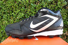 NIKE KEYSTONE SZ 95 BLACK WHITE FOOTBALL CLEATS 375559 011
