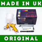 Devilbiss Gti Pro Lite As Tekna Gold Original Made In Uk Spray Gun