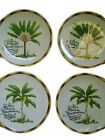 Fitz and Floyd Cape Town Salad Dessert Plates 2 Banana 2 Travelers Tree