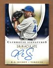 2014 Immaculate Collection R.A. DICKEY Autograph 13 25 On Card SP Clubhouse Sigs