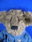 Billy Ray Beanster plush 16 inch 1999 Limited Edition Boyds Bear denim jacket