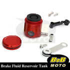 For Kawasaki Ninja 900 ZX-9R 98-05 Red CNC Front Brake Cylinder Fluid Oil Tank
