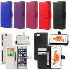 Pu Leather Flip Cover Wallet Card Case For iPhone4g/4s/ 5/5S/SE/6/6S/7/Plus