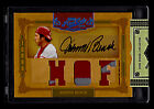 2008 Playoff Prime Cuts Johnny Bench HOF Triple Patch AUTO Sealed Autograph 4 6