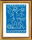 Henri Matisse Hand Signed Ltd Edition Print Joyful Man with COA unframed