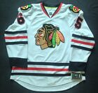 AUTHENTIC REEBOK EDGE CHICAGO BLACKHAWKS AUTOGRAPHED SHAW ROAD GAME JERSEY 52