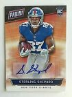 2016 Panini National Sterling Shepard Auto RC NSCC Rookie Autograph Giants SSP