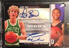 08-09 Topps Treasury Russell Westbrook Larry Bird Dual Autograph Rookie # 39