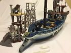 Rare Lego Pirate Ship Boat Cannon Pieces Blocks Bricks Vintage Mixed Lot Old