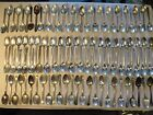 100 VTG CRAFT GRADE OVAL SOUP SPOON SILVER PLATE FLATWARE JEWELRY LOT *17