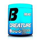 Beast Sports Nutrition CREATURE Creatine Powder Strength Endurance 60 Servings