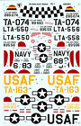 T-6 Texan  Decals 1/48 Scale for Monogram Revell Kits