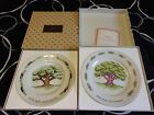 Lot of 2 Avon 2 Year Anniversary Plates Different Styles New in Box