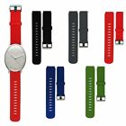 Silicone Wrist Band Sports Strap for Withings Activite Pop Watch Steel Sapphire