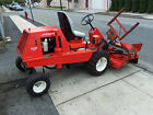 LK JACOBSEN T422D WITH 72 MOWER AND SNOW PLOW NICE NJ