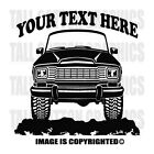JEEP GRAND WAGONEER 1980 1985 4x4 Off Road Cusotm Personalized Vinyl Decal