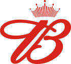 BUDWEISER logo Vinyl Decal 7 Sizes available sticker