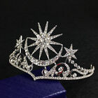 Vintage Wedding Bridal Crystal Queen pageant Crown Tiara Headbands Jewelry Prom