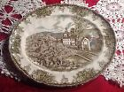 The Friendly Village By Johnson Bros Oval Plate And Bowl