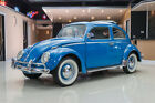 Volkswagen Beetle Classic Rag Top Rag Top 1200cc Engine 4 Speed Manual Original German Metal Restored Survivor